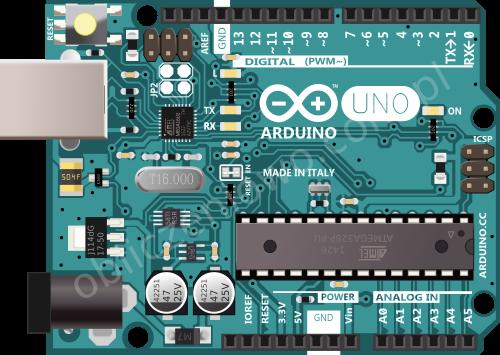 Arduino Uno R3 - góry