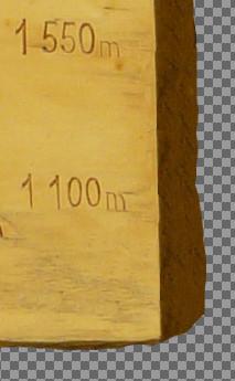 Rezultat retuszu fragmentu zdjęcia za pomocą narzędzia klonowania