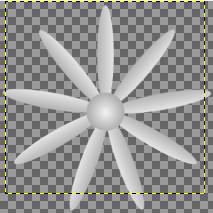Gimp - kolejny etap tworzenia animacji gif w Gimpie.