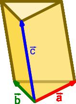 Ilustracja graniastosłupa trójkątnego
