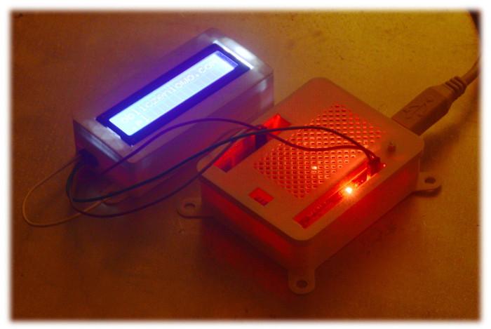 Druk 3W obudowy LCD i Arduino UNO