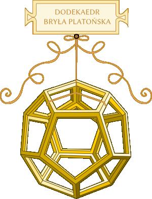 Dodekaedr - Leonardo da Vinci