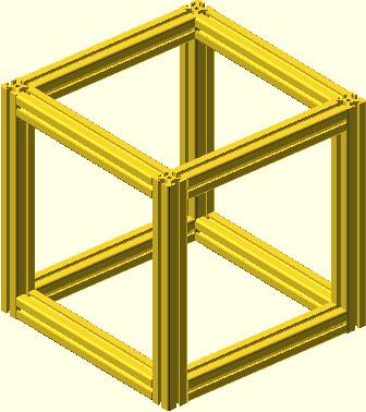 OpenSCAD - obiekt profilowy