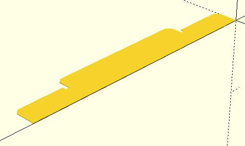 OpenSCAD - przykład użycia funkcji polygon