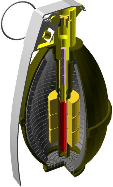 OpenSCAD - przykład utworzonego obiektu 3W z wykorzystaniem elementów graficznych utworzonych w Inkscap-ie