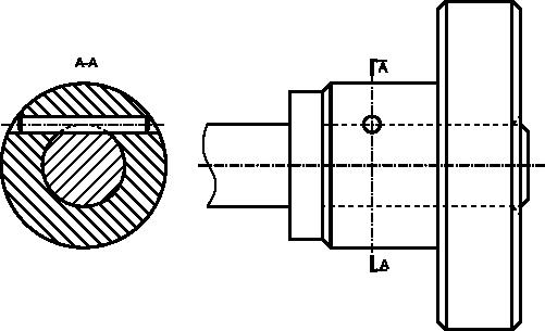 Połączenie kołkowe walcowe styczne.