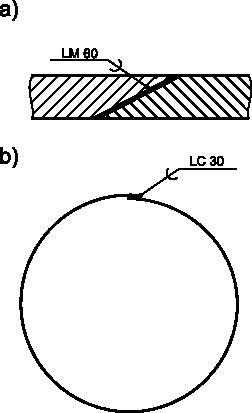 Przykłady oznaczeń połączeń lutowanych