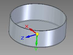 Solid Edge - przykładowy obiekt części blaszanej, który może zostać poddany procesowi rozwinięcia