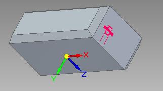 Solid Edge - przykład działania operacji fazowania