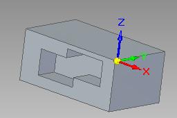 Solid Edge - zakończenie operacji wycięcia w trybie na określoną głębokość
