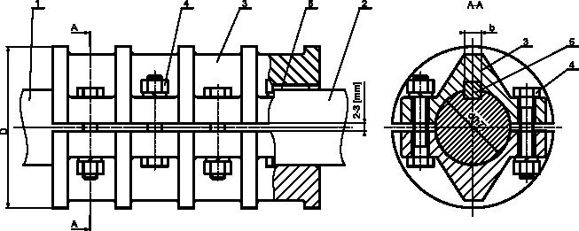 Przykład sprzęgła łupkowego