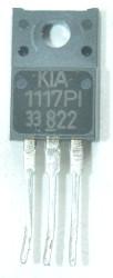 Stabilizator KIA1117PI33 z telewizora Daweoo