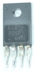 Stabilizator KIA78 R05PI wylutowany z płyty głównej telewizora Daweoo