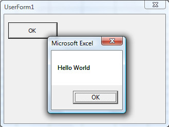 VBA - hello world