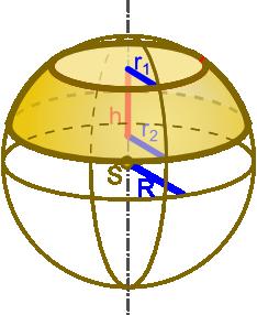 Wzór na objętość warstwy kuli