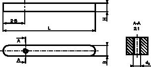 Rysunek wpustu typu <b>AW</b>
