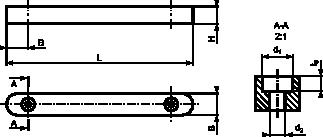 Rysunek wpustu typu <b>E</b>