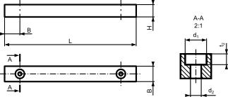 Rysunek wpustu typu <b>F</b>
