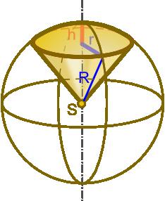 Ilustracja wycinka kuli