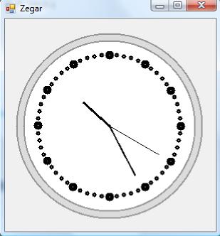 Program zegar