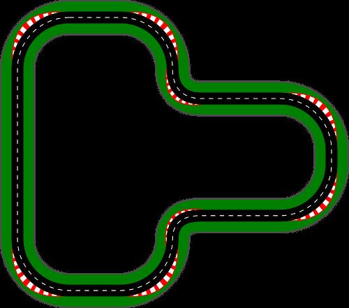 Tor wyścigowy do gry Car