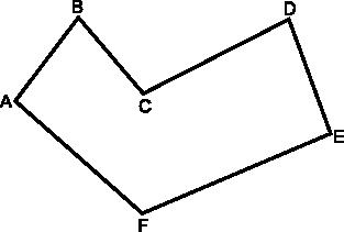 Przykładowy wielokąt płaski